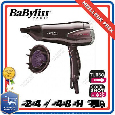 Babyliss Sèche Cheveux Expert 2300 6 Vitesses de Température Brushing RAPIDE   eBay