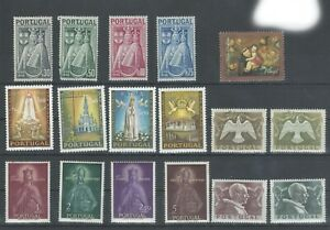 Portugal  Stamps | 1946 1951 1958 1967 | Religion | MNH | Complete Series