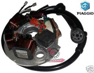 A428 Stator Volant 3 Fils Piaggio Vespa Pk 125 Sans Démarrage Électrique