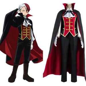 Details about My Boku no Hero Academia Todoroki Shouto Prince Suit Cosplay  Costume Custom Made