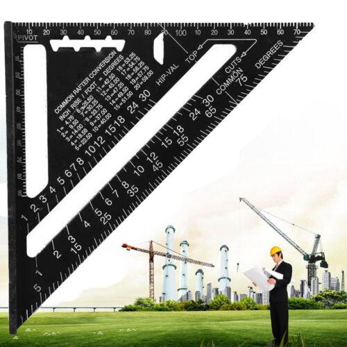 Speed Square Chevrons Système Métrique Rapporteur claveaux Angle Square Triangle Ruler