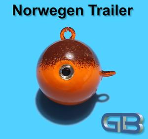 Norwegen-Trailer-40g-50g-75g-90g-100g-140g-170g-Sea-Trailer-Kugelblei-mit-Ose