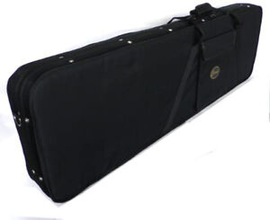 Electric Bass Guitar Case Hard Foam pod in Black Top quality by Clearwater