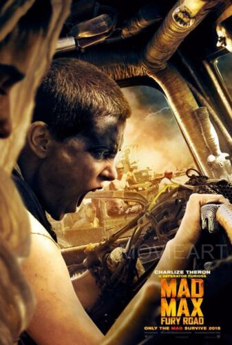 MAD MAX FURY ROAD IMPERATOR FURIOSA MOVIE POSTER  FILM A4 A3 ART PRINT CINEMA