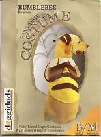 DOGGIDUDS Bumblebee Dog Costume Small/Medium Bee Halloween Dress Up