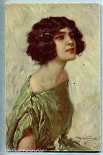 BELTRAME Donnina Glamour Girl PC Viaggiata 1920