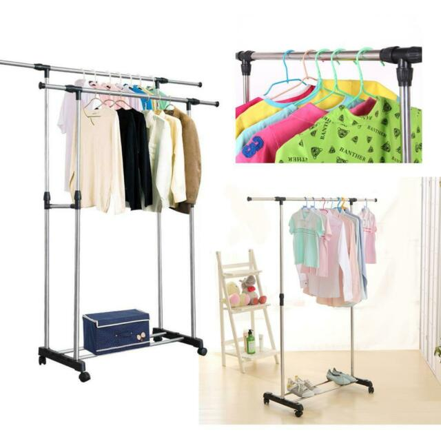 5ft Heavy Duty Portable Clothes Hanging