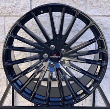 22 Rayanni Ra20 Wheels For Mercedes Benz S550 S63 Cl550 Cl63 Black Concave