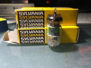 ECC808 Sylvania Nos 2 pezzi