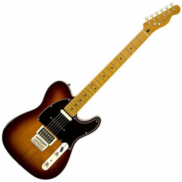 fender modern player telecaster plus electric guitar honey burst 2014 ship for sale online ebay. Black Bedroom Furniture Sets. Home Design Ideas