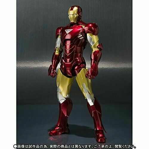 S.H.Figuarts IRON MAN MARK 6 VI Renewal Ver Action Figure BANDAI NEW from Japan