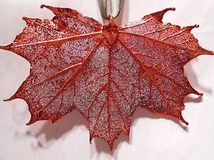 Real-Leaf-Metal-Filigree-Ornament-Sugar-Maple-Leaf