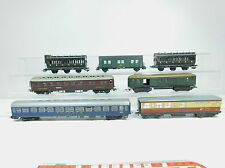 AZ388-2# 7x H0/DC Bastler-Personenwagen etc: 45402+772+Touropa etc, 1x Hornby