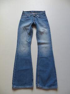 Levi-039-s-516-Schlag-Jeans-Hose-W-28-L-34-Vintage-Denim-0487-washed-Schlaghose