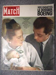 PARIS-MATCH-n-690-30-06-1962-BOEING-DE-POINTE-A-PITRE-BALI-KRIM-GERARD-MASSELIN
