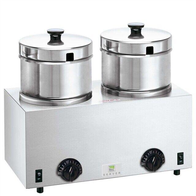 Server Twin Soup Warmer 4qt TWIN FS-4 81200