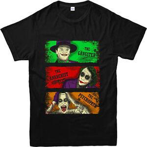Joker-T-shirt-Batman-T-shirt-Suicide-Squad-Joker-Unisexe-Adultes-amp-Enfants-Tee-Top