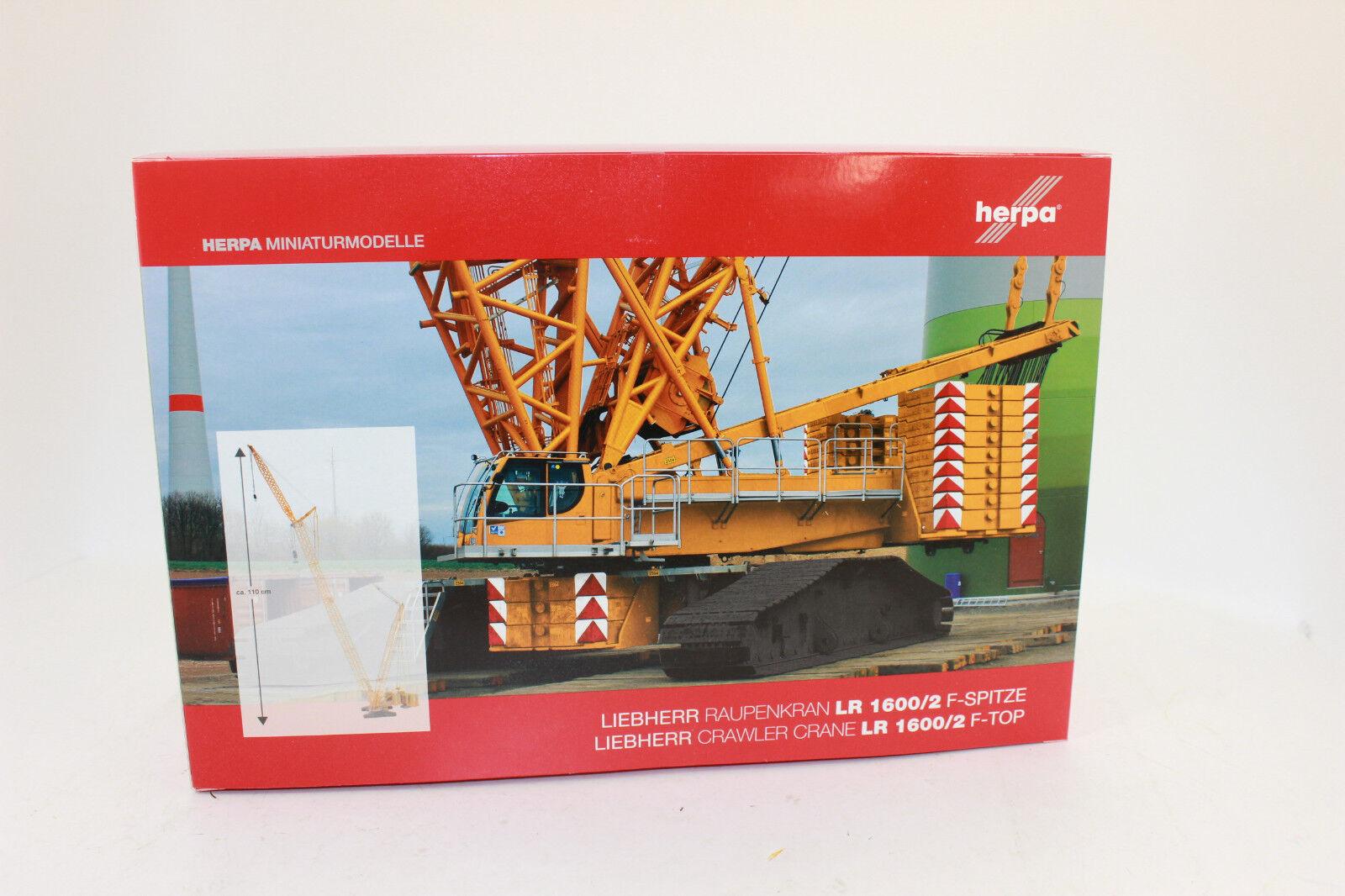 en promociones de estadios Herpa 307673 F-punta para Liebherr raupenkran LR 1600 1600 1600 2 1 87 h0 nuevo en OVP  ventas de salida
