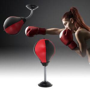 Sport Pu Bag Desktop Ball Adult Speed Stress Punching Buster Toy TclF13KJ