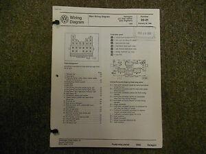 1989 VW Vanagon 450 Watt Radiator Stereo Seats Wiring ... Vanagon Radio Wiring Diagram on