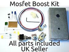 Sho Clon Mosfet Boost Kit perforados caso Ollas Perillas Pedal Stompbox Pedal Reino Unido