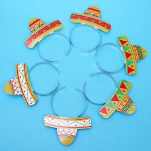 6pcs-Headbands-Fiesta-Party-Cinco-De-Mayo-Festival-Sombrero-Headbands-Headdress