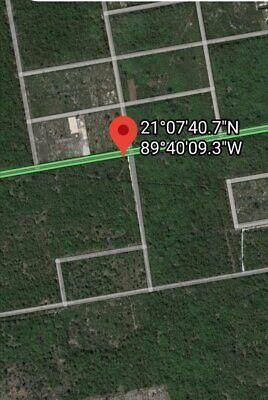 Mérida, casi frente de Club de Polo Yucatán cerca de carretera a Progreso y de la costa de Chuburná
