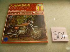 Kawasaki 400 KZ KZ400 Used Haynes Service Shop Manual 1974 On #VP-MAN301