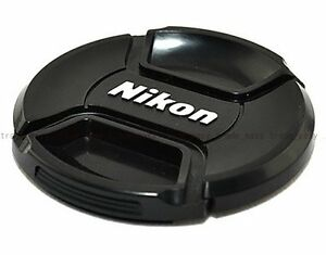 NEW-77mm-Front-Lens-Cap-Snap-on-Cover-for-Nikon-Camera
