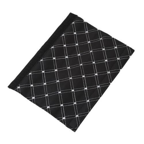 Microfiber Faux Leather Seat Belt Pad Harness Car Safety Shoulder Strap JJ