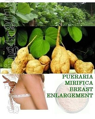 25g -2Kg PUERARIA MIRIFICA POWDER 100% NATURAL THAILAND HERB  BREAST ENLARGEMENT