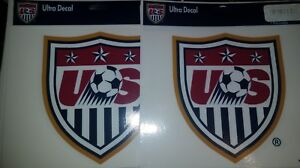 2-WINCRAFT-SPORTS-U-S-National-Soccer-Team-Ultra-Decals-New-in-Package