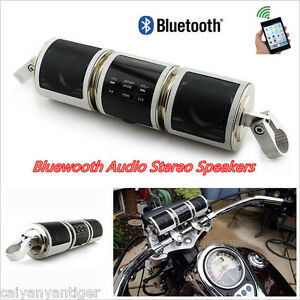 Bluetooth Motorcycle Handlebar Audio Amplifier Stereo