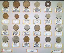 24 coins collection at good price. british india and republic india coins.