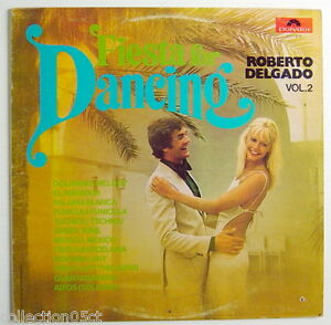 ONE-1975-039-S-33-R-P-M-RECORD-ROBERTO-DELGADO-VOLUME-2-FIESTA-FOR-DANCING
