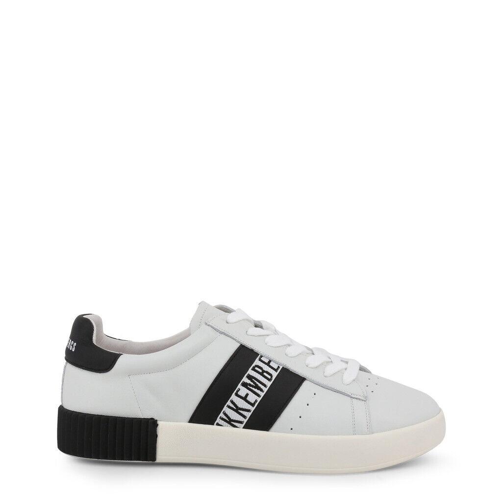 Chaussures Bikkembergs Homme Cosmos_2434_Wht-Blk Noir Blanc Homme Original