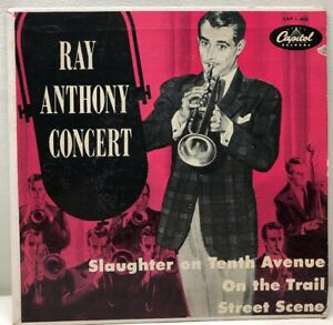 Ray-Anthony-Concert-Slaughter-On-Tenth-Ave-45rpm-Record-EAP-1-406