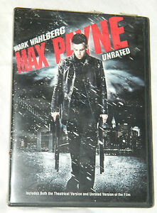 Max Payne (DVD, 2009, Checkpoint; Sensormatic; Widescre