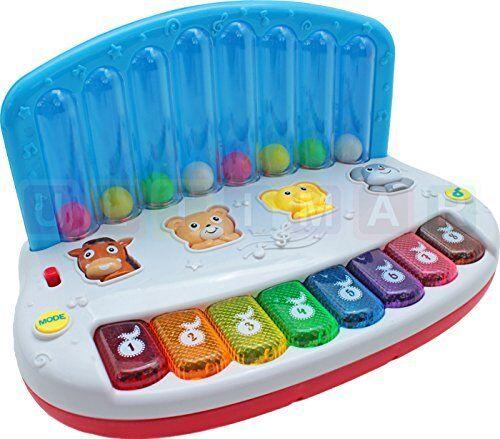 Baby Drum Spielzeug Baby Musik Trommel und Elektronisch Lernen Spielzeug U1Z6
