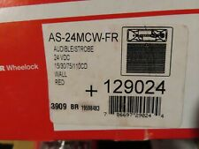 Cooper Wheelock As 24mcw Fr Fire Alarm Audiblestrobe129024