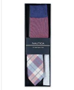 Pocket Square Socks Set Nautica Mens Tie