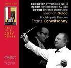 Sinfonie 4,Klavierkonz.KV 488,Sinfonia Domestica von Staatskapelle Dresden,Konwitschny,Friedrich Gulda (2011)