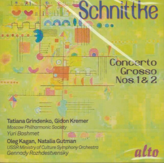 [BRAND NEW] CD: ALFRED SCHNITTKE: CONCERTO GROSSO NOs 1 & 2