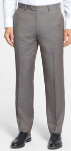 Linea Naturale Luxe Men's DRESS Pants GREY MADE IN ITALY - SIZE 35