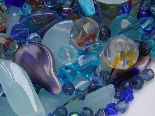* style mélangé forme 3 mm à 24mm perles de verre mix couleur 7 Sac 3 Tailles La clairance