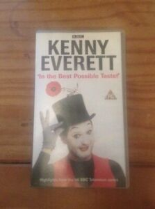 VHS-Video-Kenny-Everett-In-The-Best-Possible-Taste