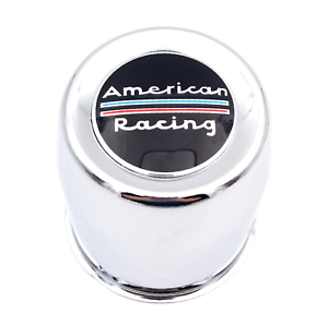 American Racing AR767 Chrome  Wheel Center Cap for Steel Wheels Only P//N 1330002
