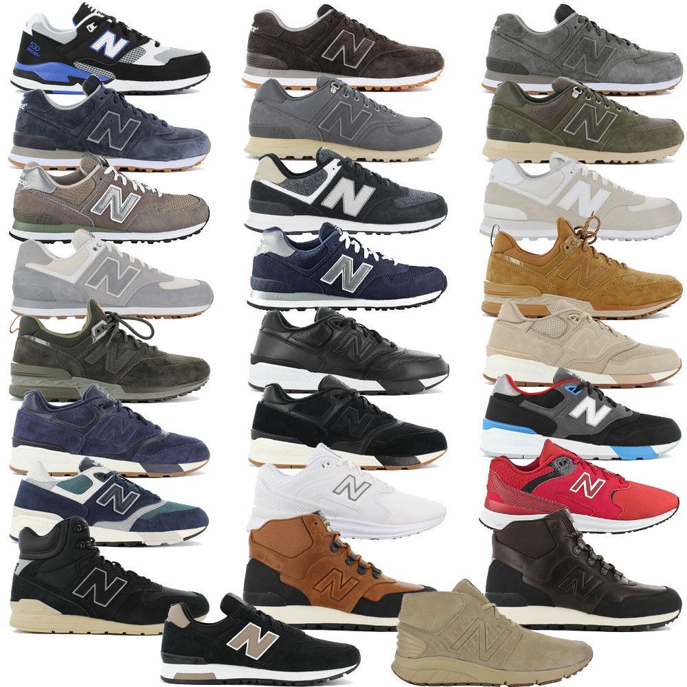 New balance zapatos caballero zapatillas botas zapatillas de deporte 574 597 565 755 996 1550 nuevo