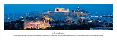Athen Akropolis Foto Magnet Epoxid Griechenland Greece Souvenir,8x8 cm