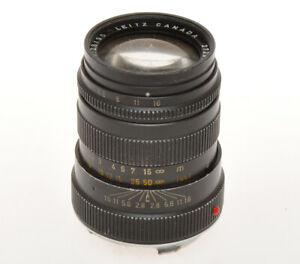 Leitz-lens-90mm-F-2-8-Tele-Elmarit-Leica-M-mount-lens-damaged-sold-for-parts